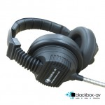 Armoured Cable Headphones - Robust Armoured headphones from blackbox-av