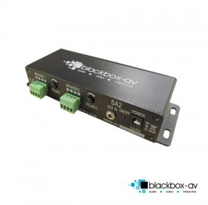 Sound amplifier 2 commercial 4 speaker amplifier