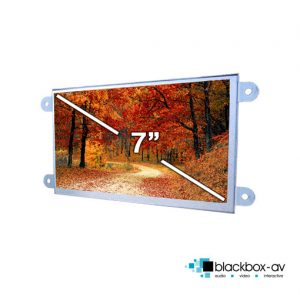 7 Inch Open Frame Video Screen Front
