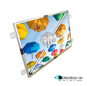 10 Inch Open Frame Video Screen Dimensions