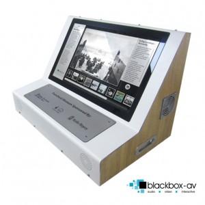 Desktop Mounted Multi-Touch Kiosk