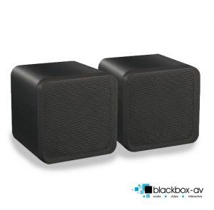 80w Mini Box Speakers Front