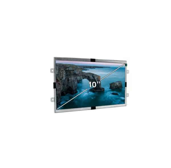 10 Inch Open Frame Video Screen to Scale