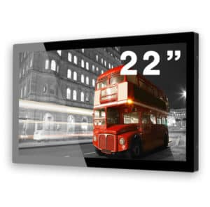 22 Inch Multi Touch Screen Side Angle