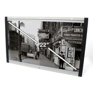22 Inch Open Framed Screen