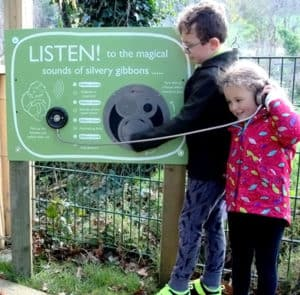 AudioSign Turn at Curraghs Wildlife Park
