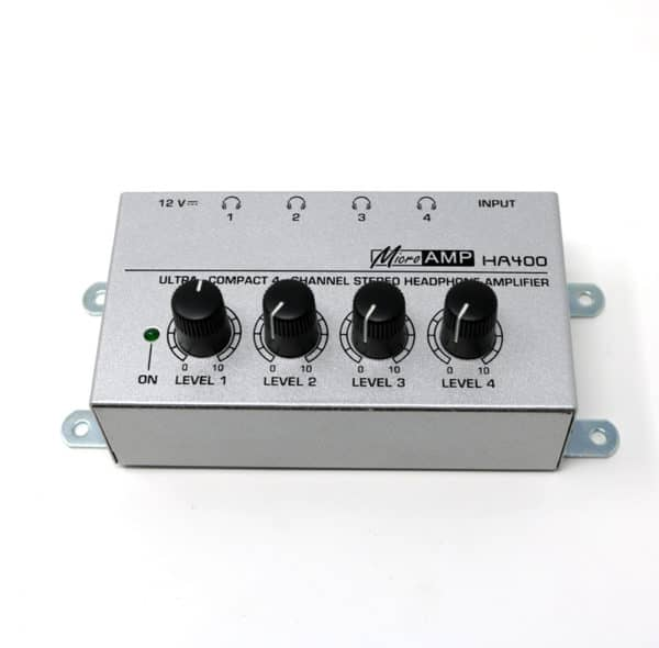 HA-4 Headphone Amplifier Channels