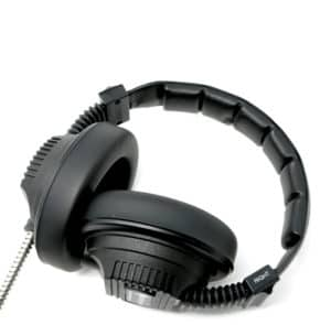 Mark I Armoured Cable Headphones Birdseye