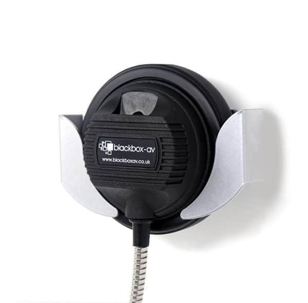 Old Style Single Cup Armoured Cable Headphone Hanger