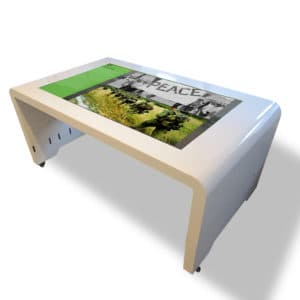 'Sleek' Multi Touch Table Angle