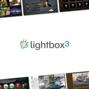 Lightbox 3 Multi-touch commercial customisable Software package