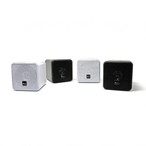 Mini Box Speakers black and white